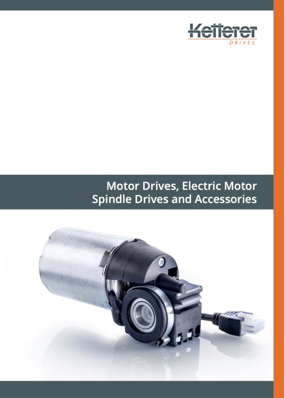 Product brochure Spindle drive
